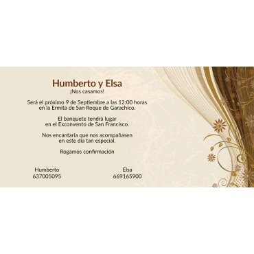 Invitaciones Boda Exclusivas